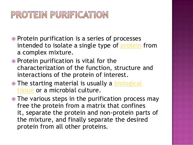 Techniques For Protein Purification