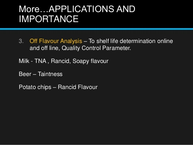Techniques in Flavour Analysis slideshare - 웹