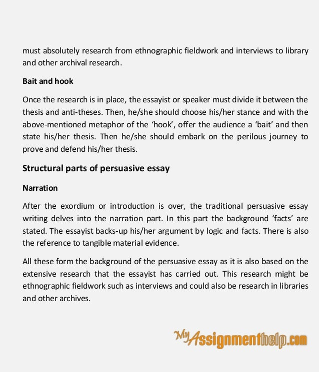 examples of good hooks for persuasive essays