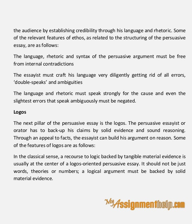 techniques of persuasive essay writing  9 the