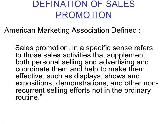 ufe0f what is sales promotion  sales promotion  meaning