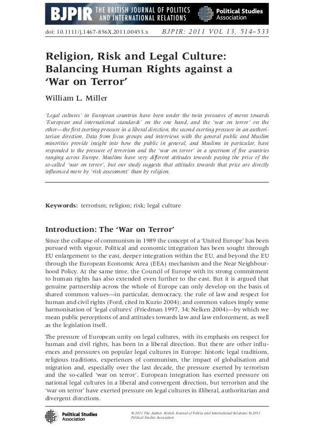 doi: 10.1111/j.1467-856X.2011.00453.x                    BJPIR: 2011 VOL 13, 514–533Religion, Risk and Legal Culture:Balan...