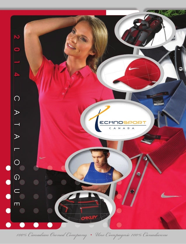 2014CATALOGUE 100% Canadian Owned Company • Une Compagnie 100% Canadienne TECHNOSPORTCANADACATALOGUE2014 QUÉBEC 7850 rue B...