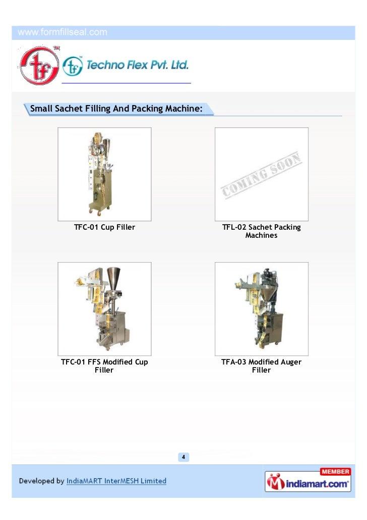 Techno Flex Pvt  Ltd, Faridabad, packaging machinery