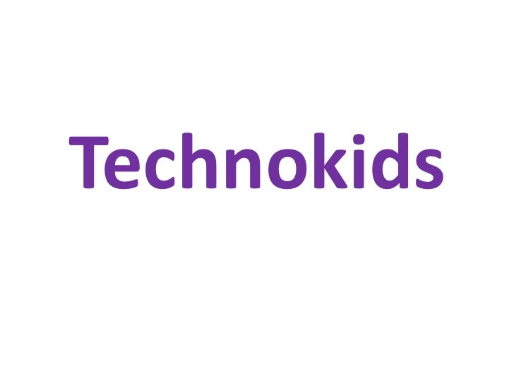 Technokids<br />