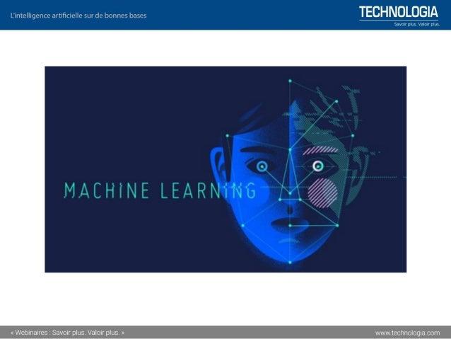 Les architectures de « Machine Learning »