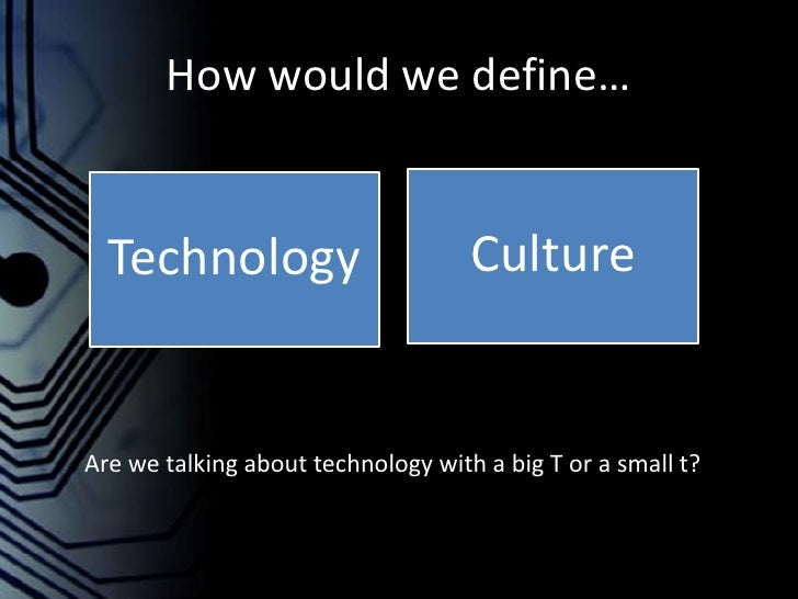 Technological Determinism Slide 3