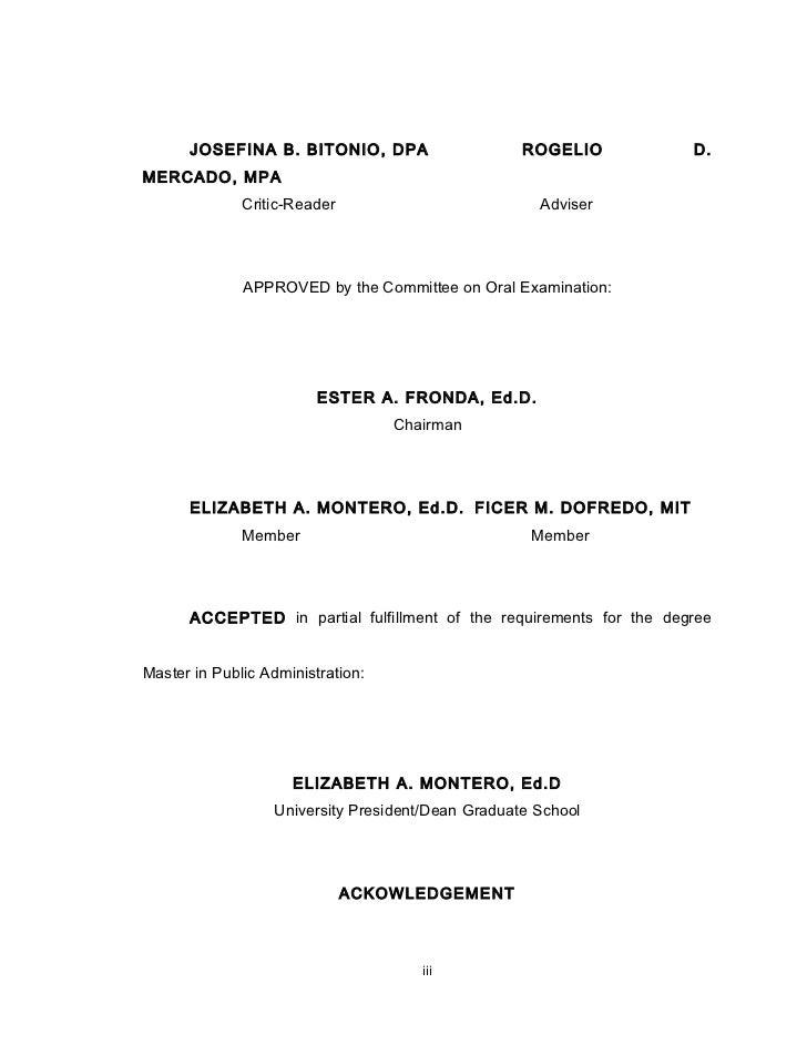 urdaneta city university thesis format