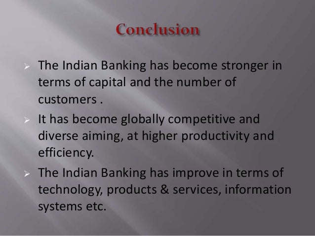 technological innovation in indian banking sector essay Innovation-driven growth in india 5 within a space of 20 years (1995-2014), the sector recorded 910 million 5 mobile-phone subscriptions—18 times the number of landline connections in 2006 (50 million), the year when landline subscriptions reached their peak 6 in the future, growth in.