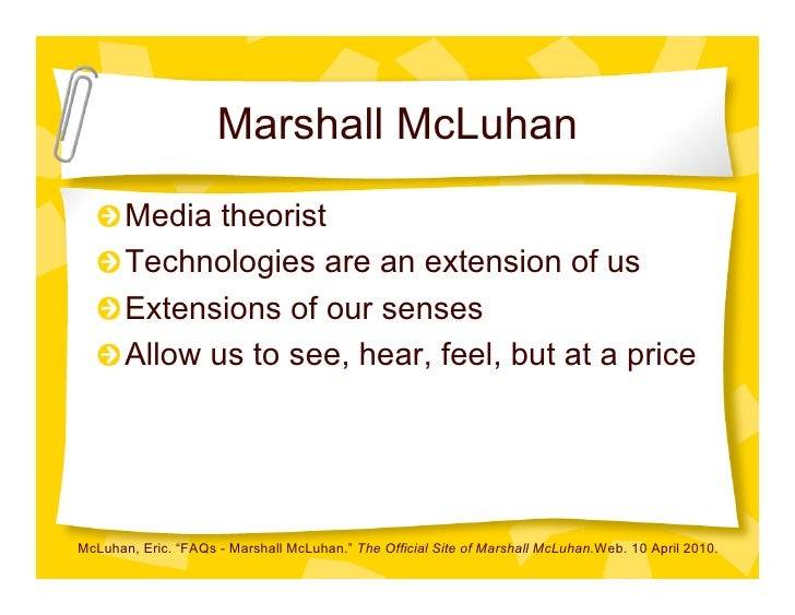 marshal mcluhan proposing a definition for This feature is not available right now please try again later.