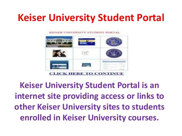 Technologies Used In Keiser University Graduate School