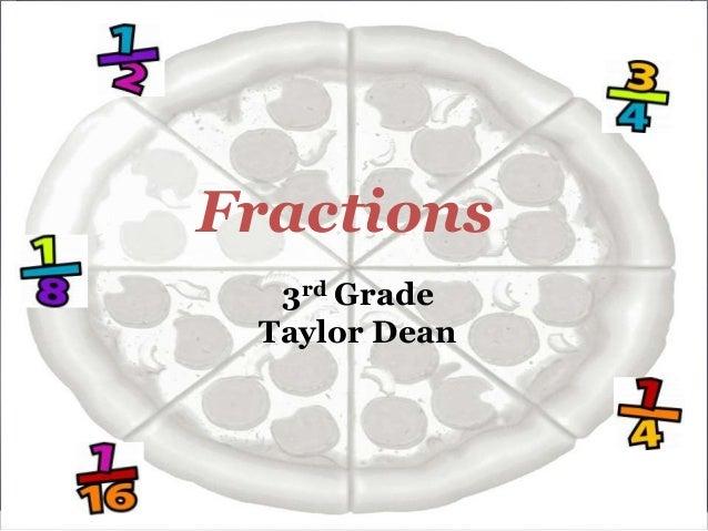 Fractions 3rd Grade Taylor Dean