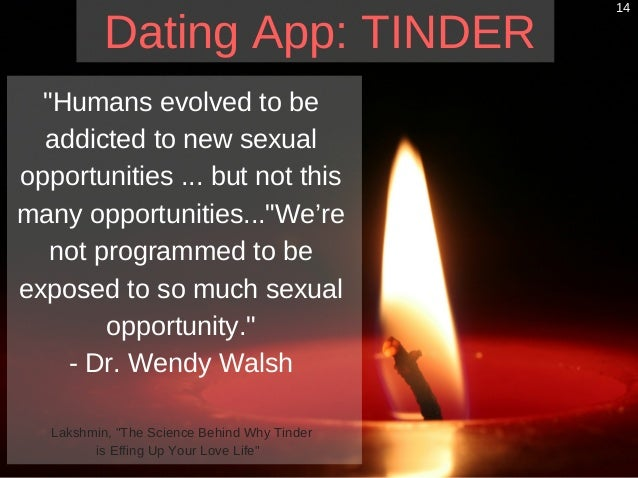 technology effects dating