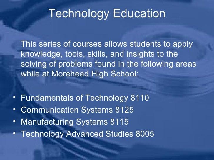 Technology Education Program Introduction Powerpoint Slide 3