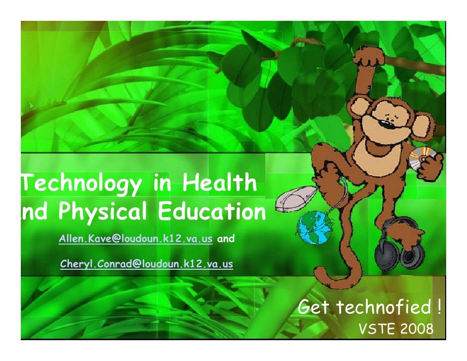 Technology in Health and       Physical Education  It's not just PE! Authentic Problems Nutrition Lesson Plan Differentiat...