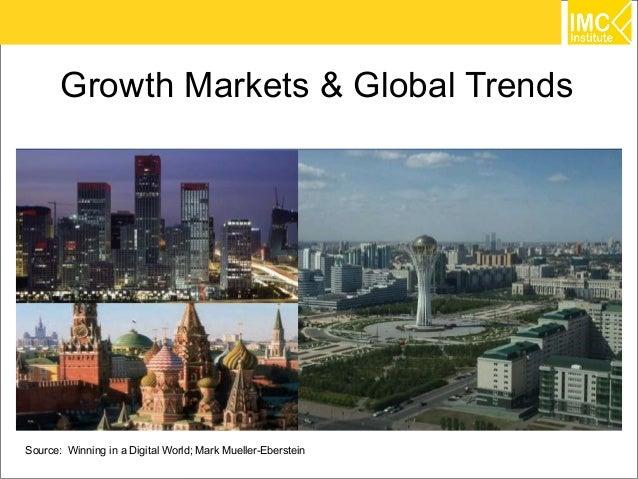 Growth Markets & Global TrendsSource: Winning in a Digital World; Mark Mueller-Eberstein   3