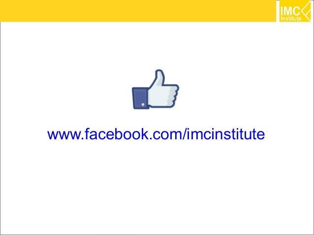 www.facebook.com/imcinstitute                                39