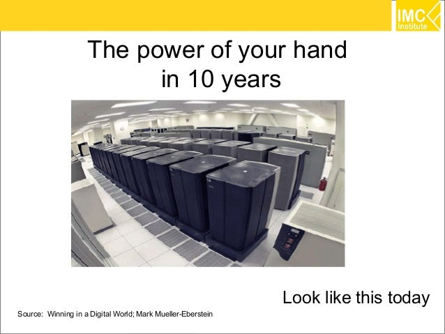 The power of your hand                          in 10 years                                                             Lo...