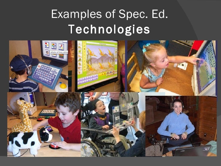 Education/ Technology And Special Education term paper 17431