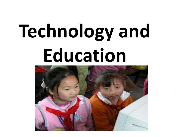 ICT's in Education<br />The Chinese Ministry of Education has a reasonably massive push underway to put computers in schoo...