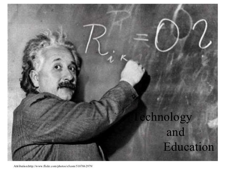 Technology and Education Attribution:http://www.flickr.com/photos/o5com/5107062979/