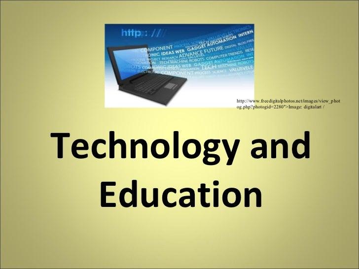 "Technology and Education http://www.freedigitalphotos.net/images/view_photog.php?photogid=2280"">Image: digitalart /"
