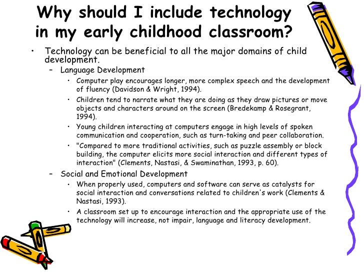 Education technology in early childhood years  Early Childhood Technology