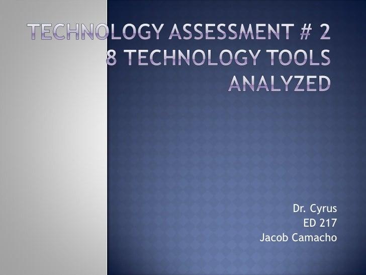 Dr. Cyrus ED 217 Jacob Camacho