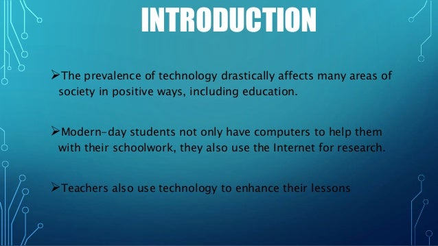 the impact of technology essay The use of technology is 10 uses of technology in our daily life by research information available in the area of technology and its far-reaching effects.