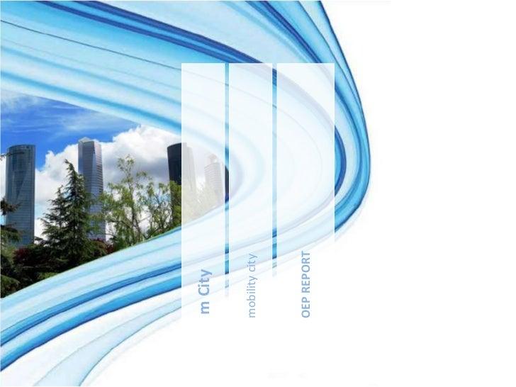 m Citymobility cityOEP REPORT