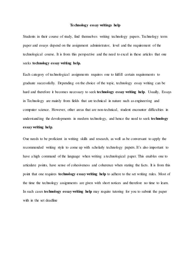 essay writing topics on technology  a list of fresh communication  essay writing topics on technology