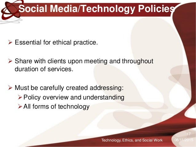 technologies and social customs and ethics Social ethics includes the examination of policy, legislation, and regulation, and such topics as the life and death of the office of technology assessment in the united states ( kunkle 1995 ).