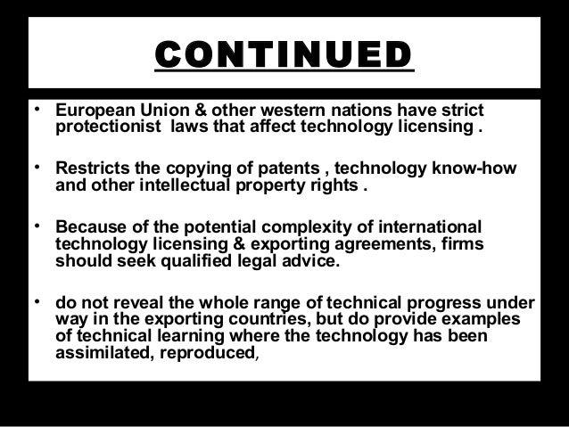 Technology Export
