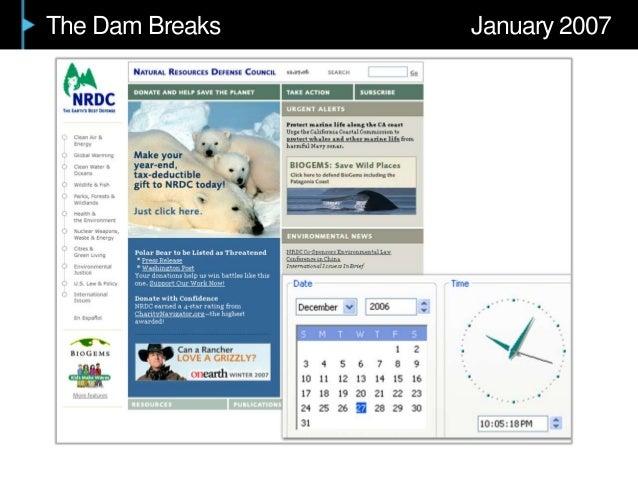 The Dam Breaks January 2007