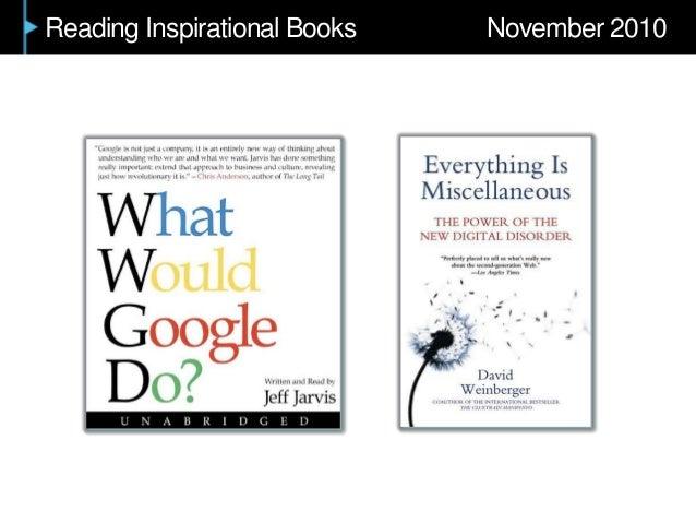 Reading Inspirational Books November 2010