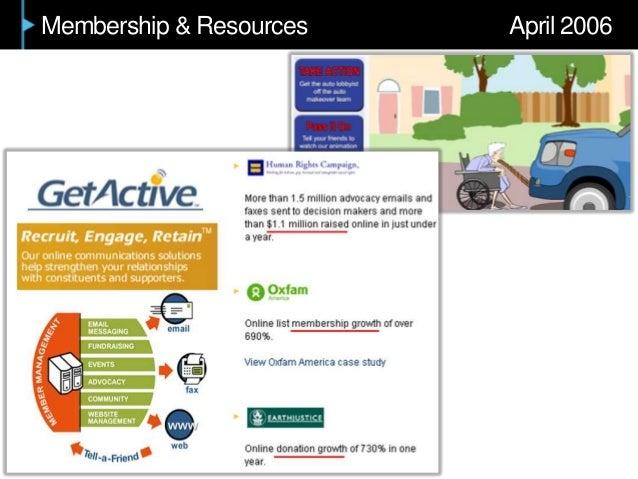 Membership & Resources April 2006