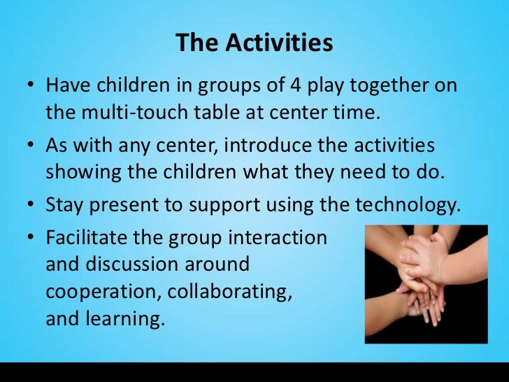 a discussion on children learning what they want Helping your child become a reader is the single most important  of checking in  with you by phone to discuss her plans  children need active learning as well  as quiet learning.