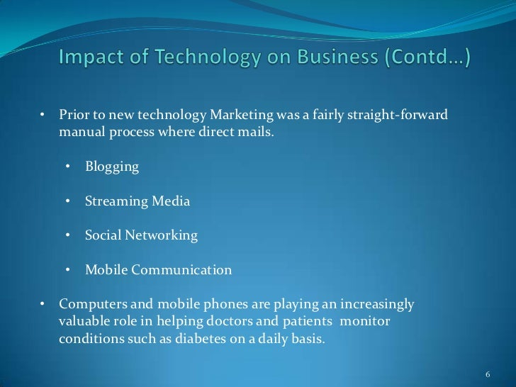 technology in business communications