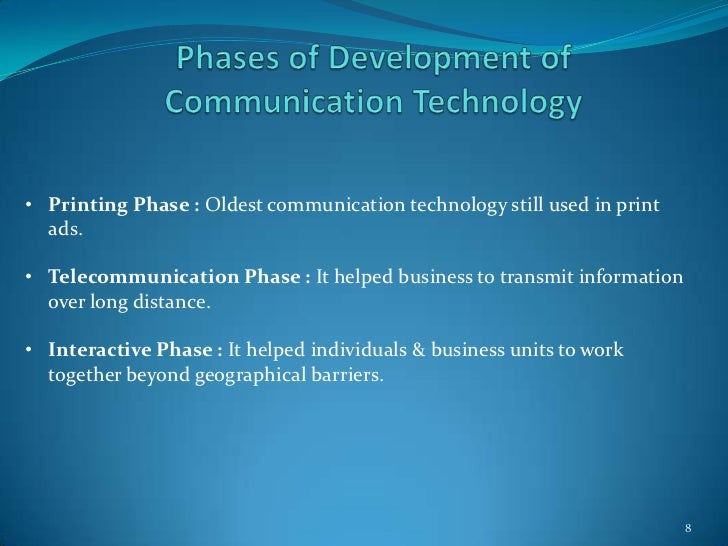 business communication uses of technologies Business communication is goal oriented earlier, business communication was limited to paper-work, telephone calls etc but now we have cell phones, video conferencing, emails, satellite communication etc.