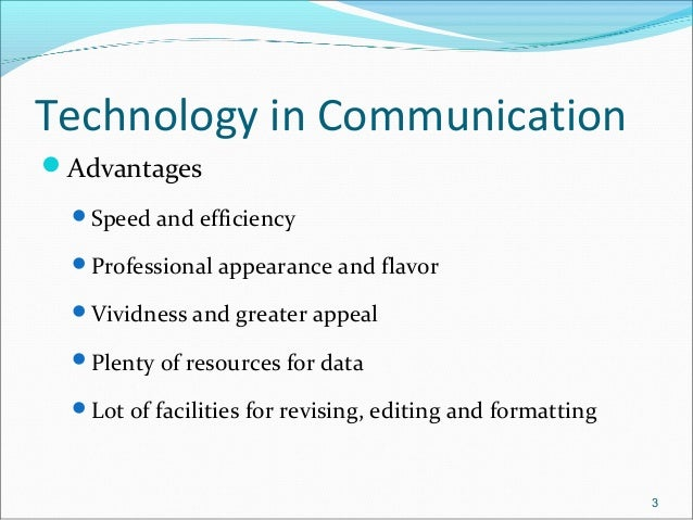 The impact of advancements of computer and communication technologies on it investments