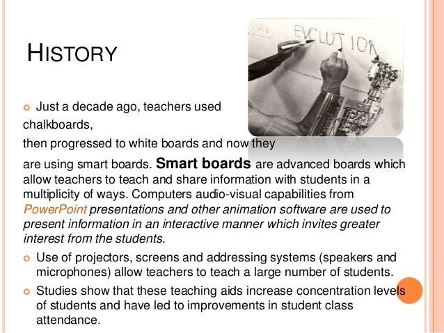 Technology in education Slide 3