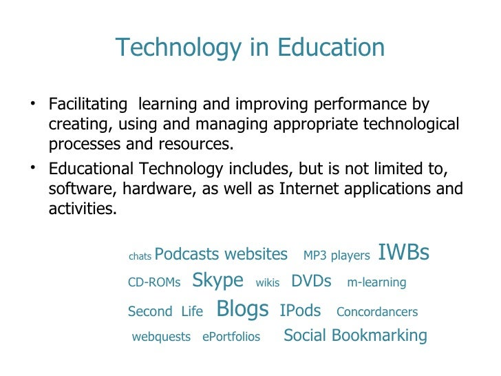 technology in education the key factors for success by inna stevens 2 technology in education