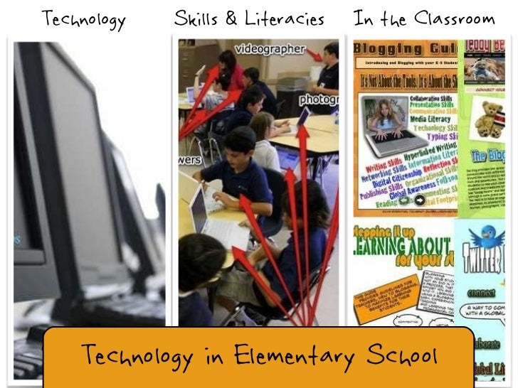 Technology Skills & Literacies In the Classroom Technology in Elementary School