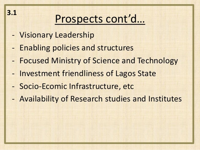 prospects of computerized accounting in nigeria The problems and prospects of a computerized accounting and it's implication on e-payment in the banking industry the problems and prospects of a.