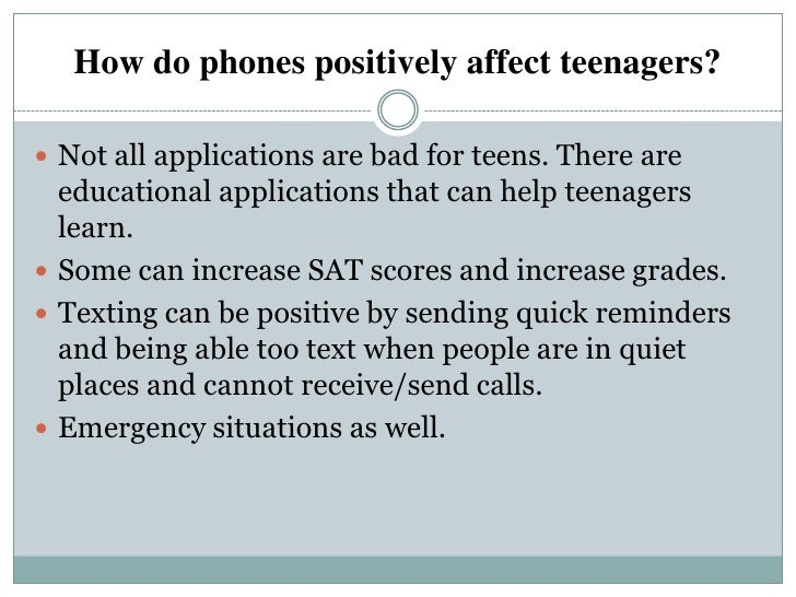 """how technology affects teenagers What effect will growing up in an """"age of technology have on the younger   usually, these stories focus on the effect that it has on teenagers,."""