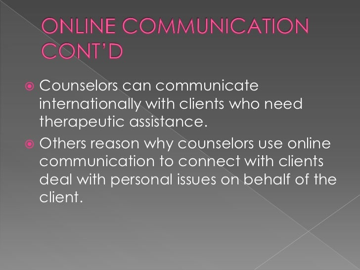 the importance of observation in counselling clients The counsellor's role is therefore to help troubled persons to grow through their   to observe the client well, one needs to listen to messages that are carried in .
