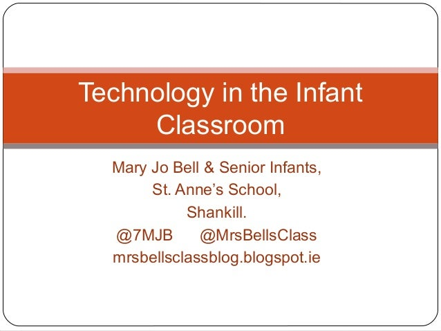 Mary Jo Bell & Senior Infants,St. Anne's School,Shankill.@7MJB @MrsBellsClassmrsbellsclassblog.blogspot.ieTechnology in th...