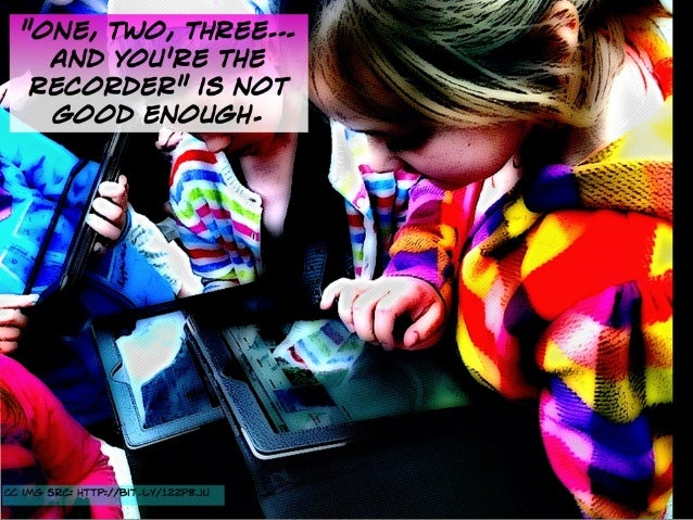 Technology is NOT Transforming Education. YOU ARE!