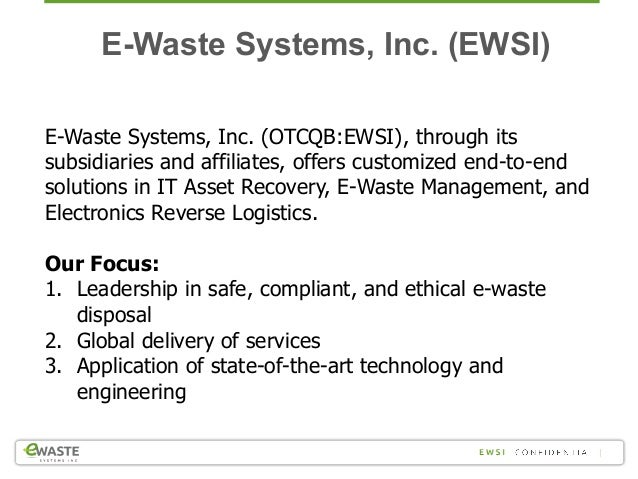 Technology Lifecycle Recycling Challenges