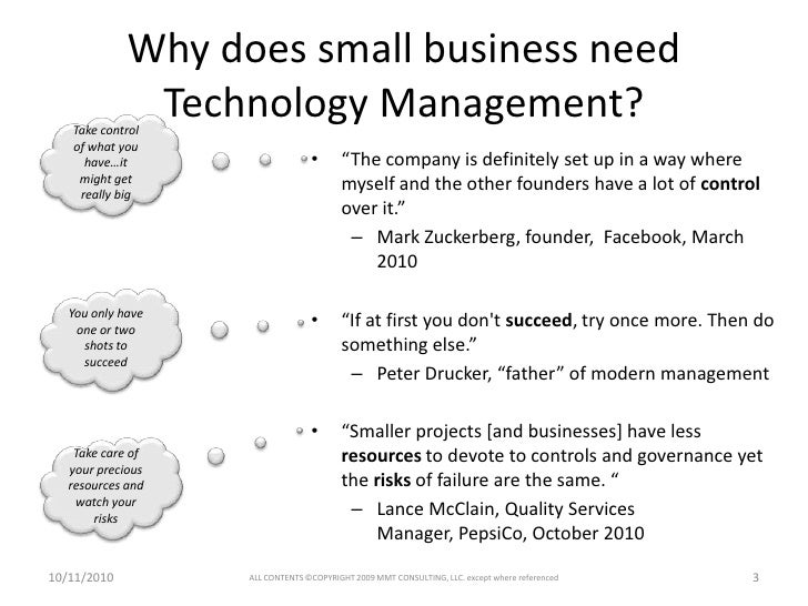 Technology Management Image: Technology Management For Small Business